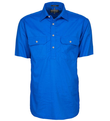 Ritemate Pilbara Men's Closed Front S/S Shirt