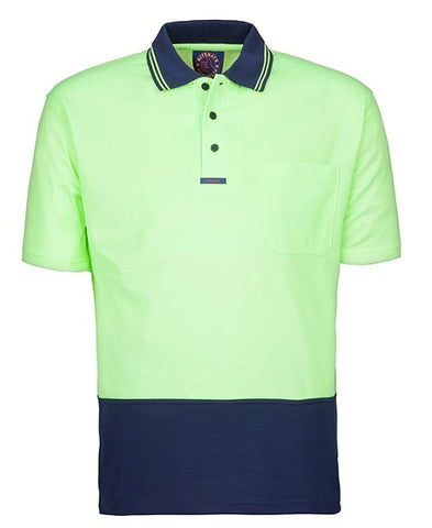 Rite Mate Hi Viz Short Sleeve Polo Shirt Yellow