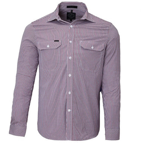 Rite Mate Men's Long Sleeve Double Pocket Shirt