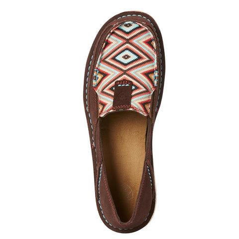 Ariat Women's Aztec Coffee Bean and Pastel Cruiser