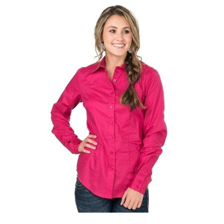 Cinch Bright Pink Blouse