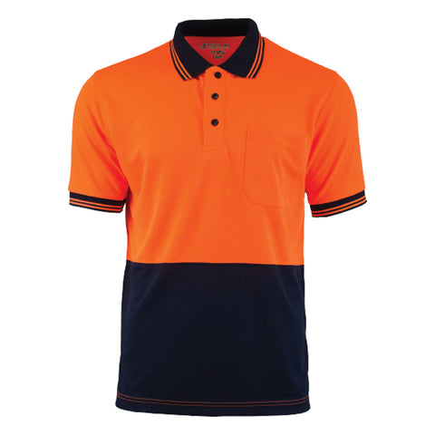 Tough Inc. Hi-Vis Short Sleeve Polo Shirt