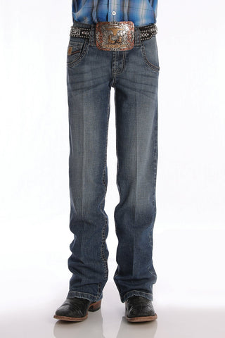Cinch Boys Relaxed Fit Jean Medium Stonewash