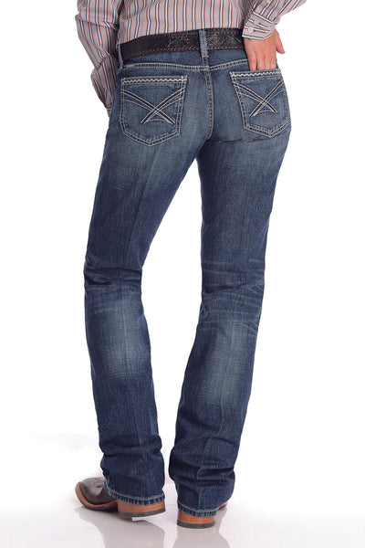 Cinch Ada Relaxed Fit Jean May - Medium Stonewash