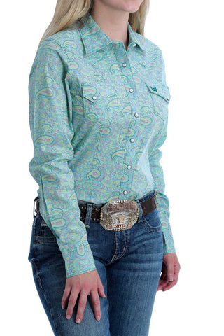 cinch Pastel Paisley shirt
