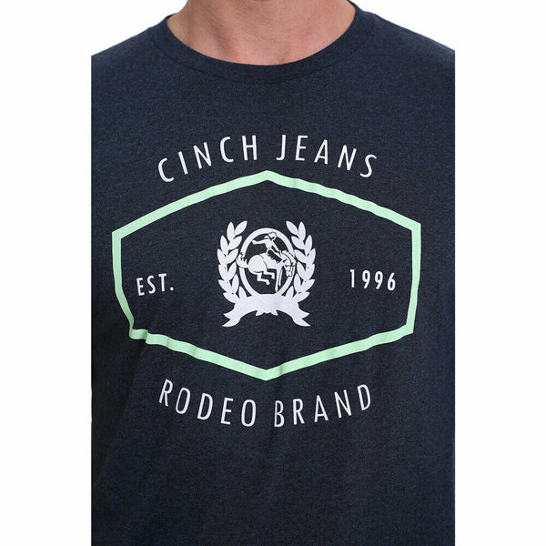 Cinch Men's Navy Rodeo Logo Shirt