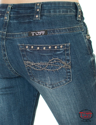 Cowgirl Tuff Silver Mustang Women's Jeans