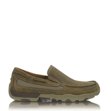 Twisted X Men's Driving Moc's Boat Slip On