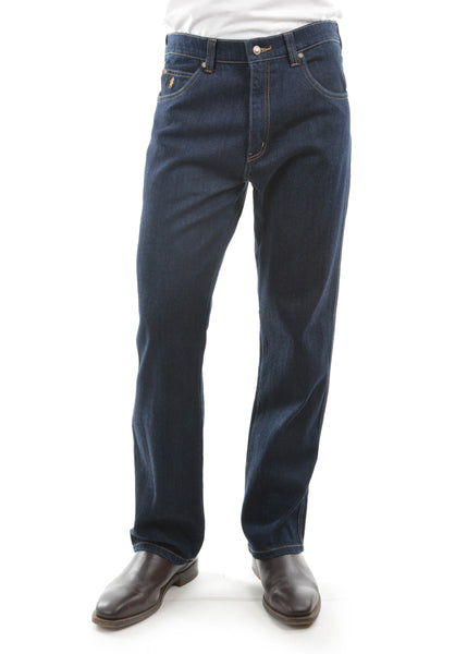 Thomas Cook Mens Stretch Comfort Waist Jean Mid-Straight