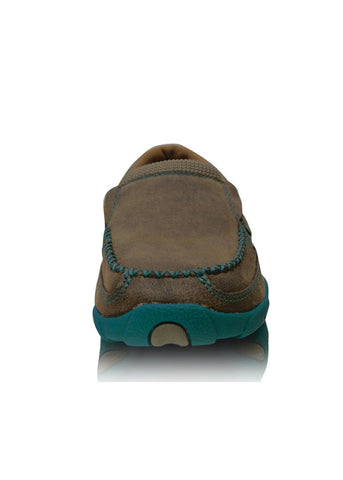 Twisted X Women's Casual Driving Moc Turquoise