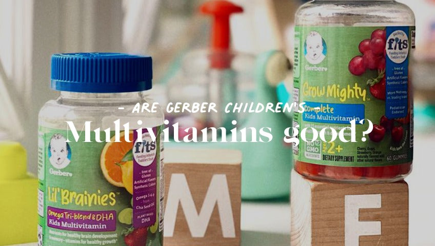 Are the Gerber Kid's multivitamin gummies right for my baby?