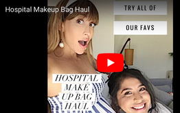 Whats in my Hospital Makeup Bag Haul
