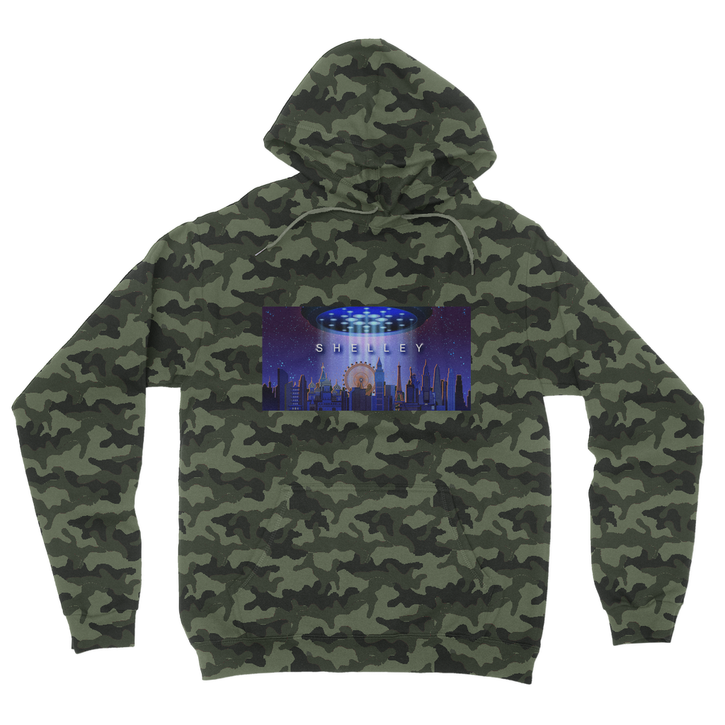 Shelley Camouflage Adult Hoodie