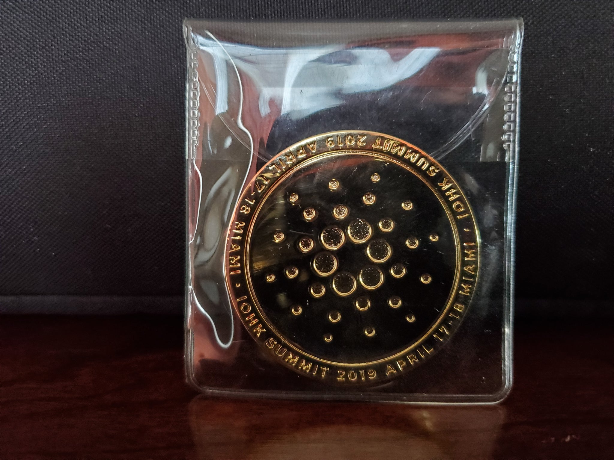 **SOLD OUT ** Limited Edition IOHK Summit coin