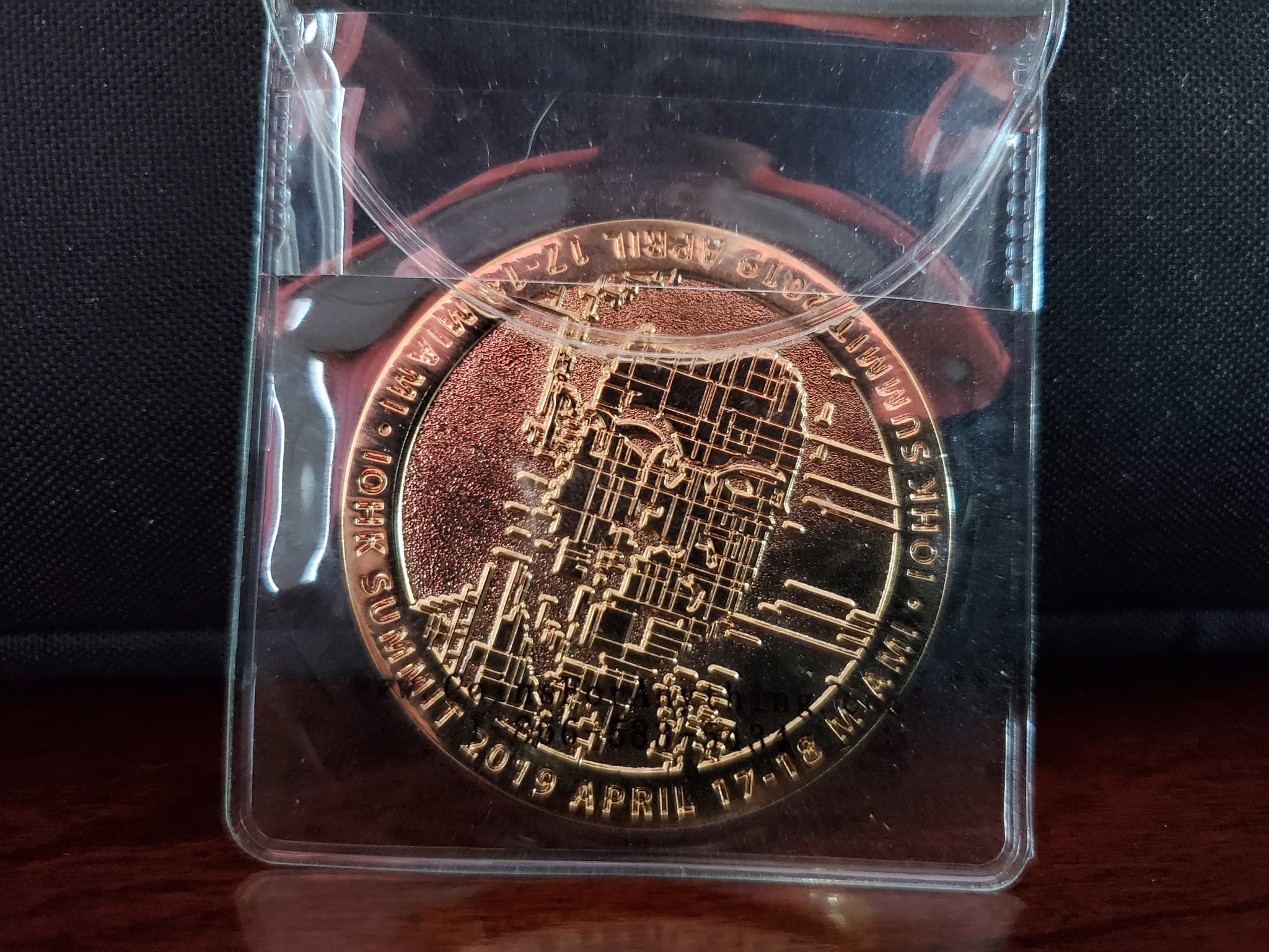 **SOLD OUT** Limited Edition IOHK Summit coin