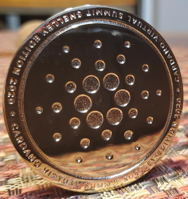 *SOLD OUT* Cardano Shelley Commemorative Coin