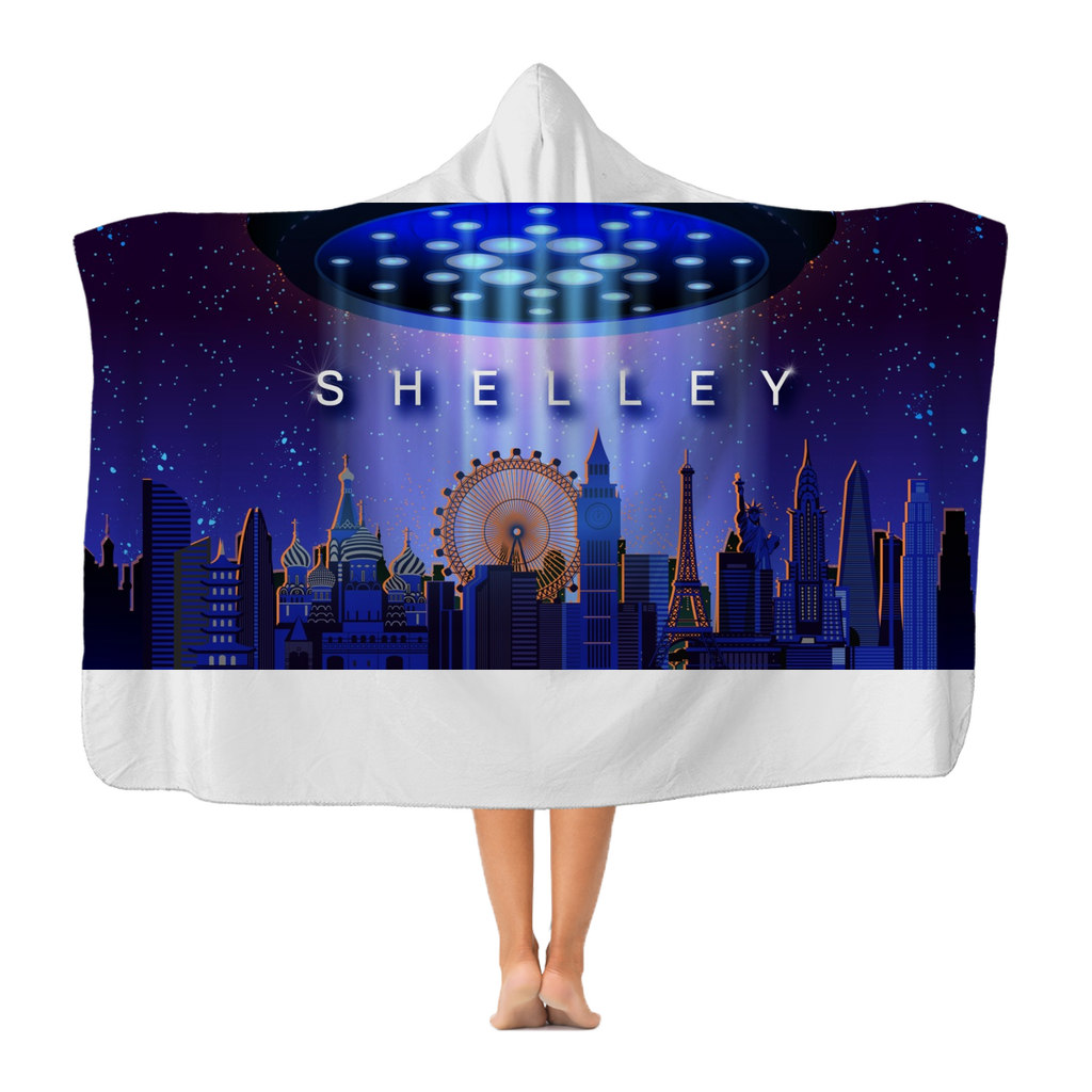 Shelley Classic Adult Hooded Blanket
