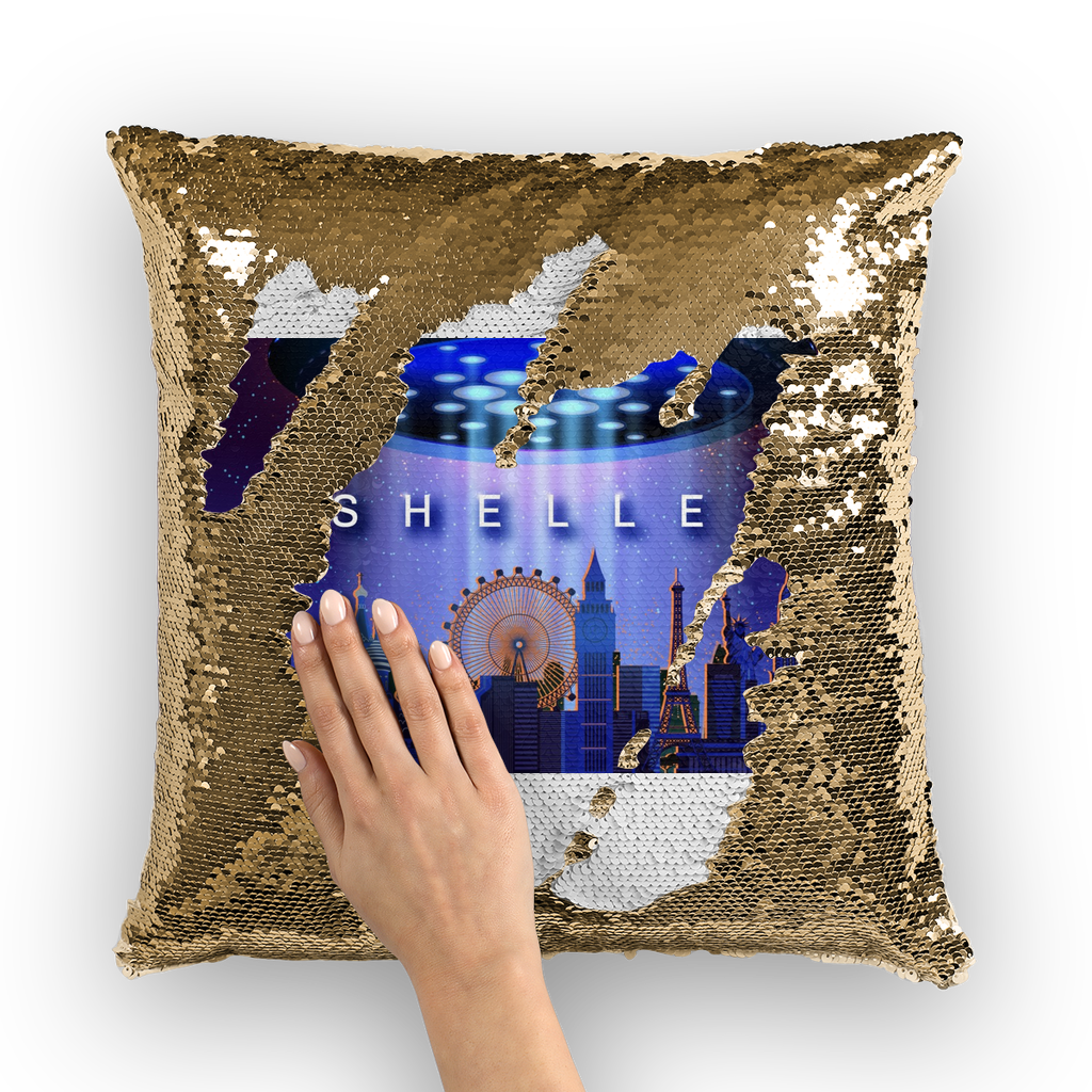Shelley Sequin Cushion Cover