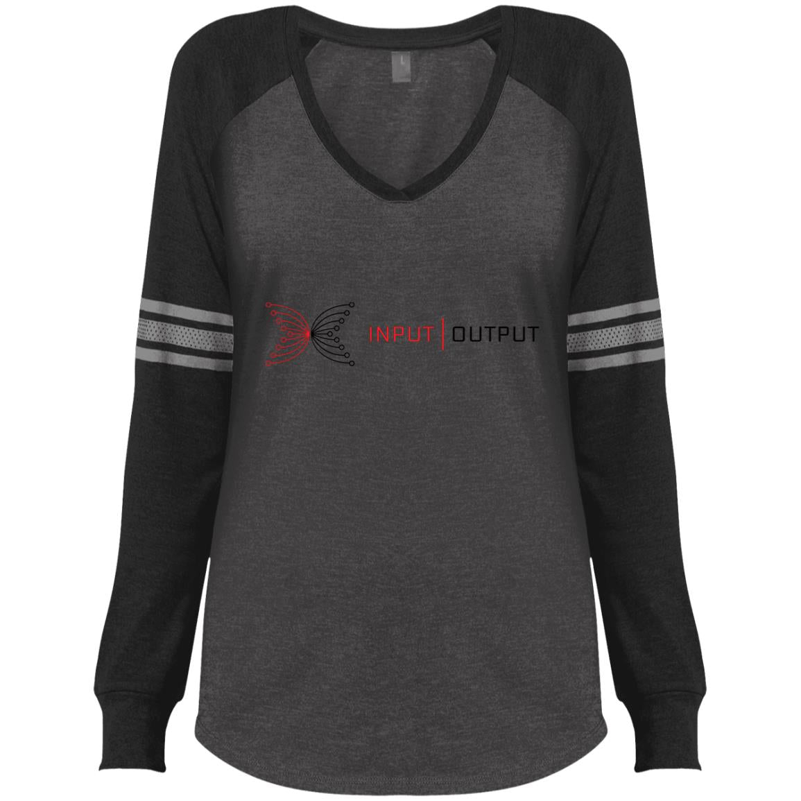 IOG Ladies' Game LS V-Neck T-Shirt