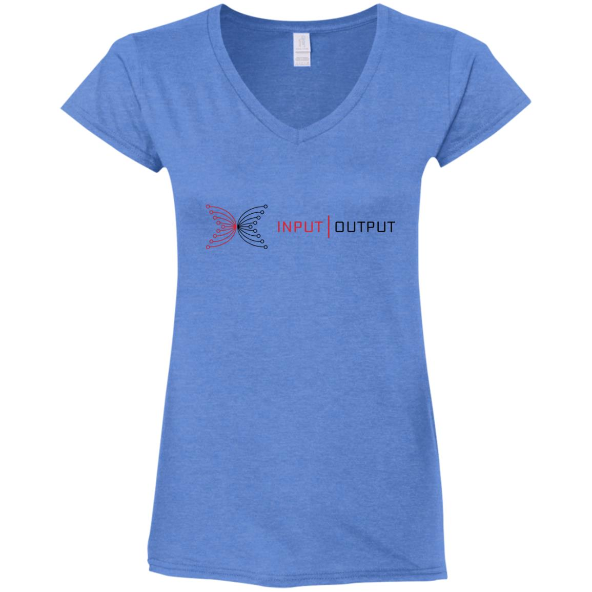 IOG Ladies' Fitted Softstyle 4.5 oz V-Neck T-Shirt