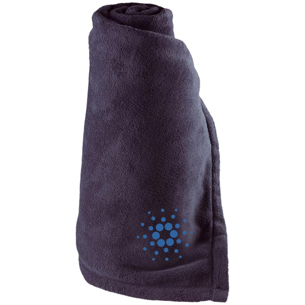 Cardano Large Fleece Blanket