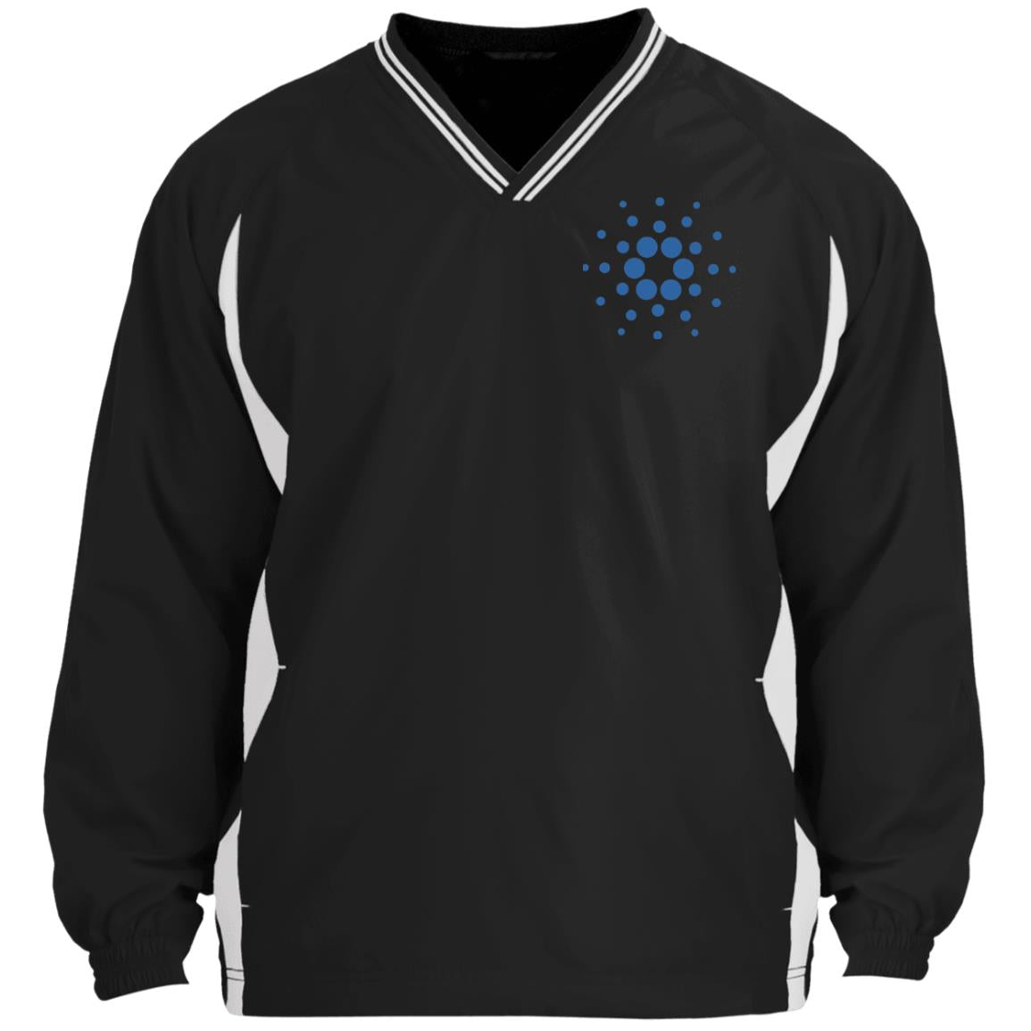 Cardano Tipped V-Neck Windshirt