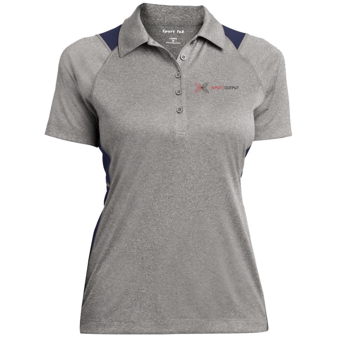 IOG Heather Moisture Wicking Polo