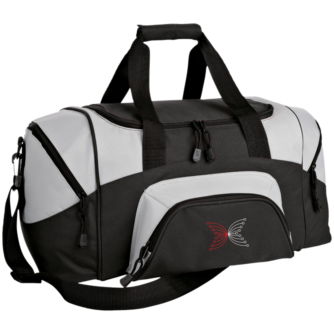 IOHK Small Colorblock Sport Duffel Bag