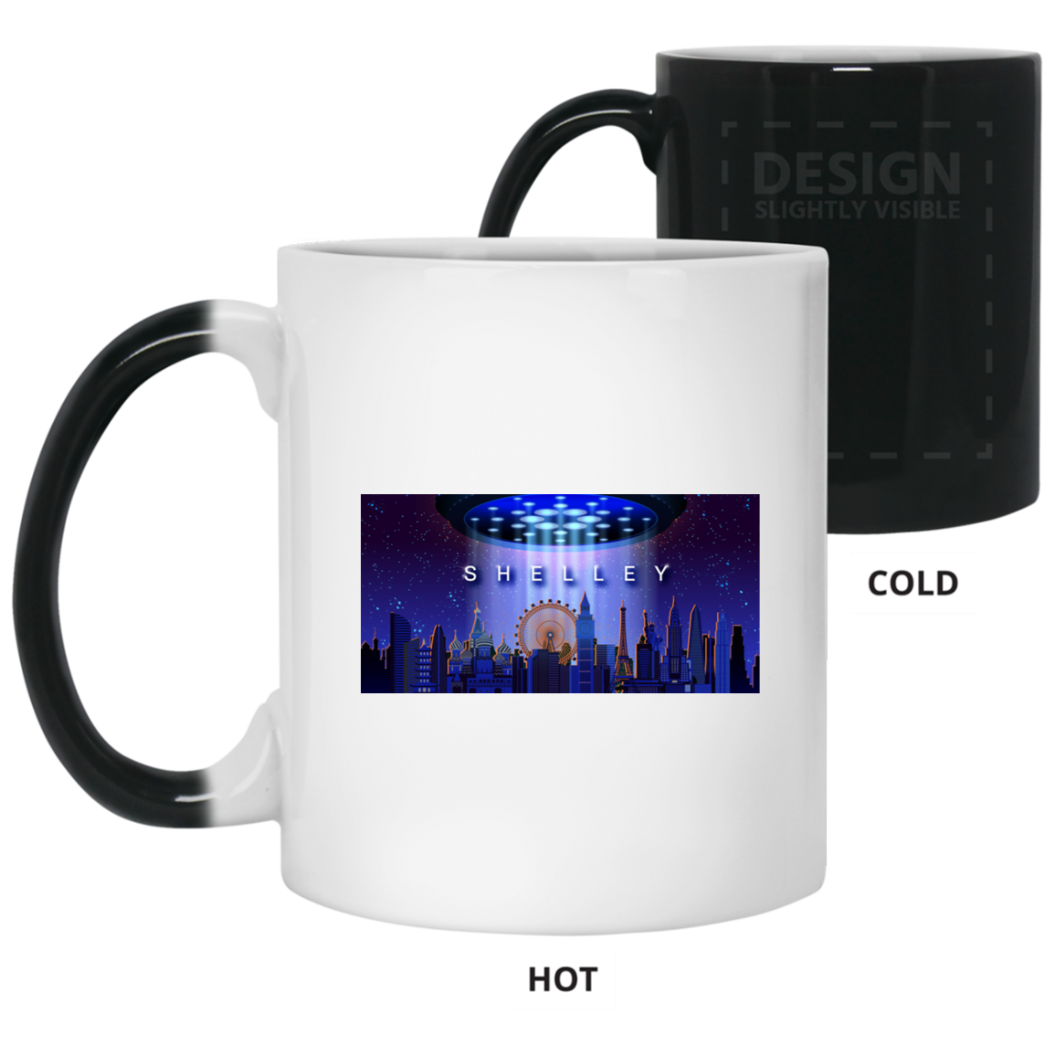 Shelley 11 oz. Color Changing Mug