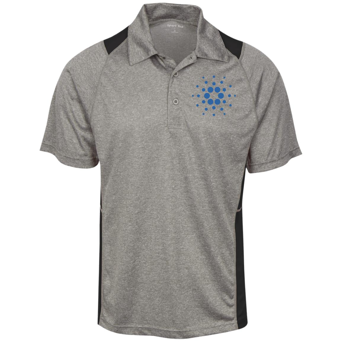 Cardano Heather Moisture Wicking Polo