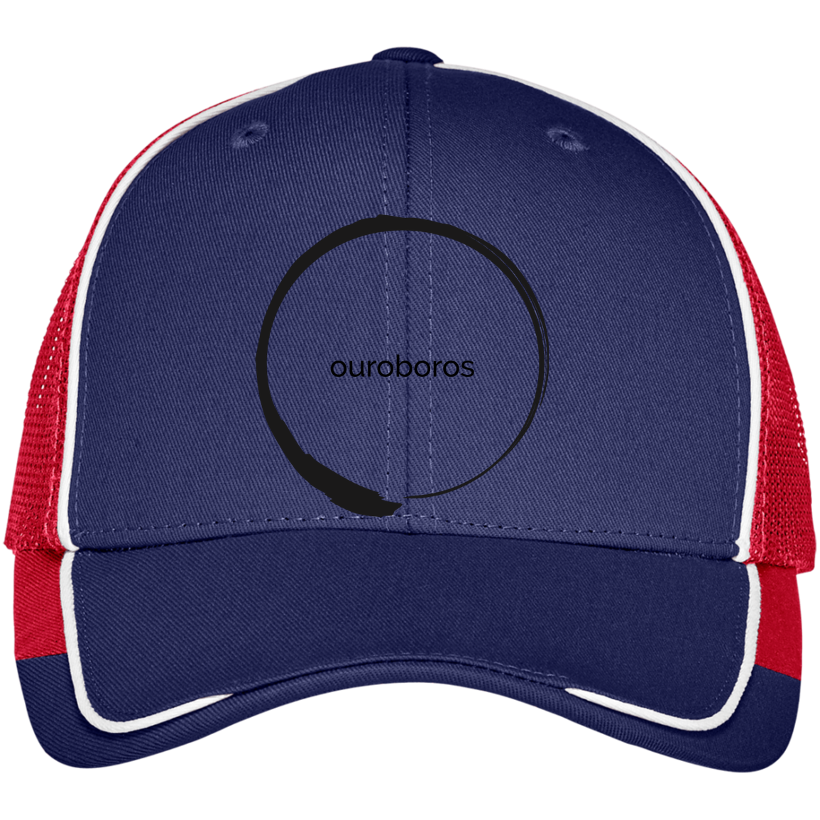 Ouroboros Colorblock Mesh Back Cap
