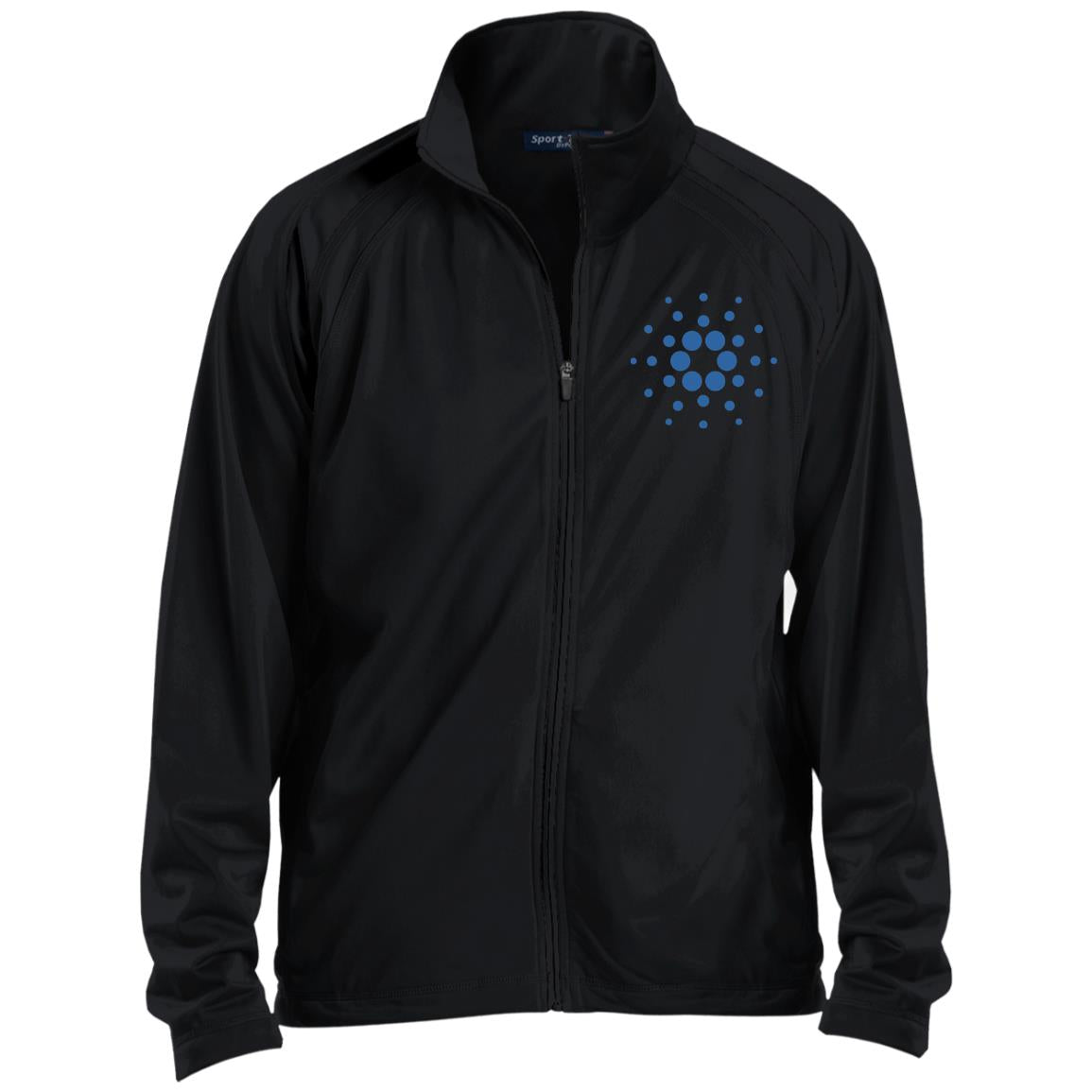Cardano Raglan Sleeve Warmup Jacket