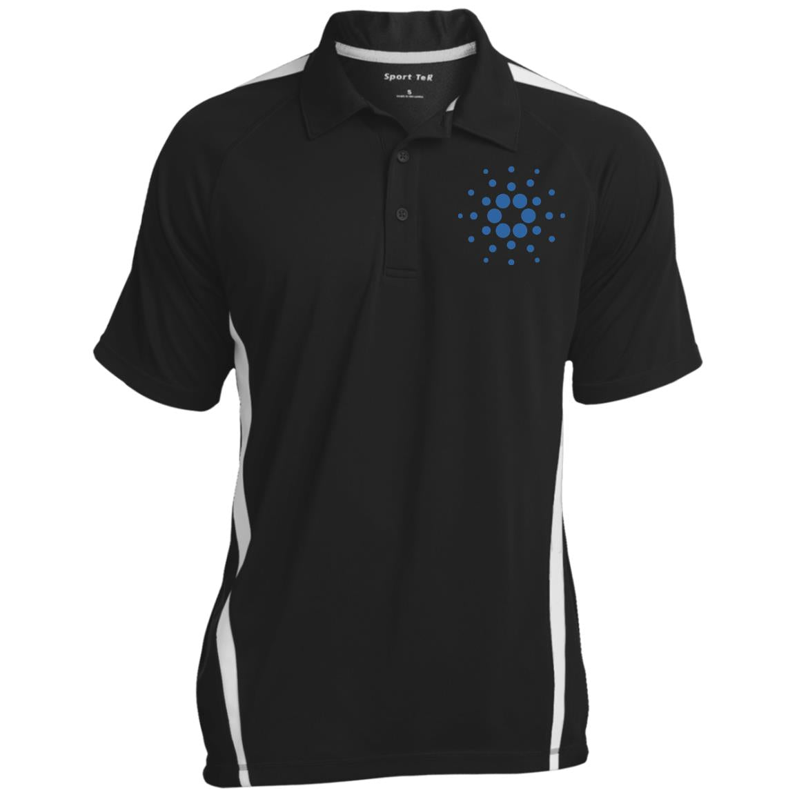 Cardano Men's Colorblock 3-Button Polo