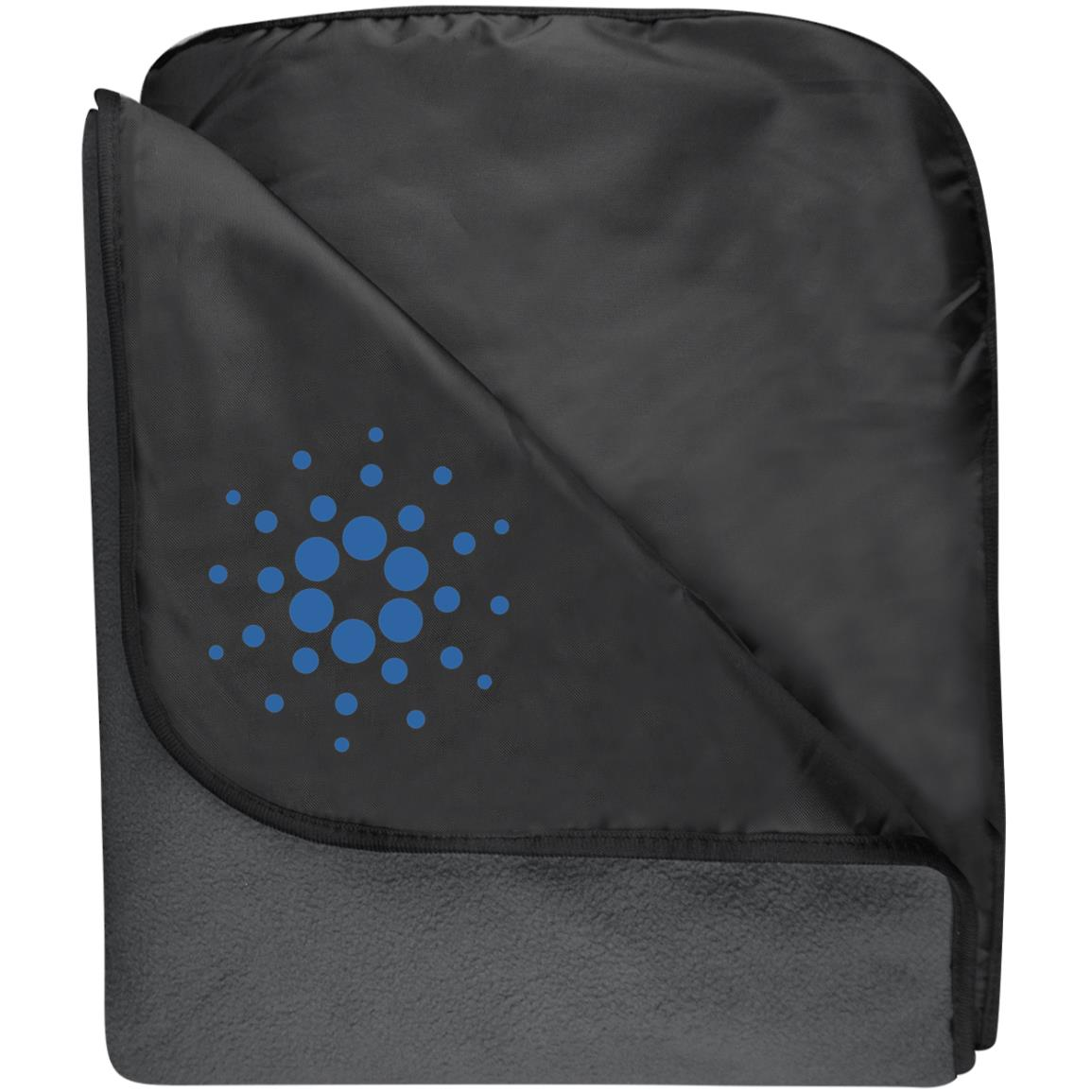 Cardano Fleece & Poly Travel Blanket