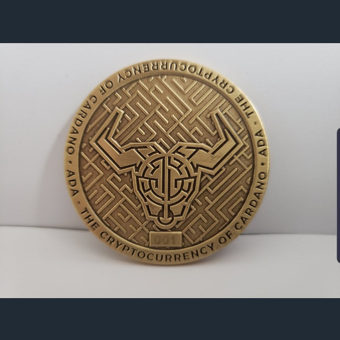 SOLD OUT! Cardano Commemorative medallion