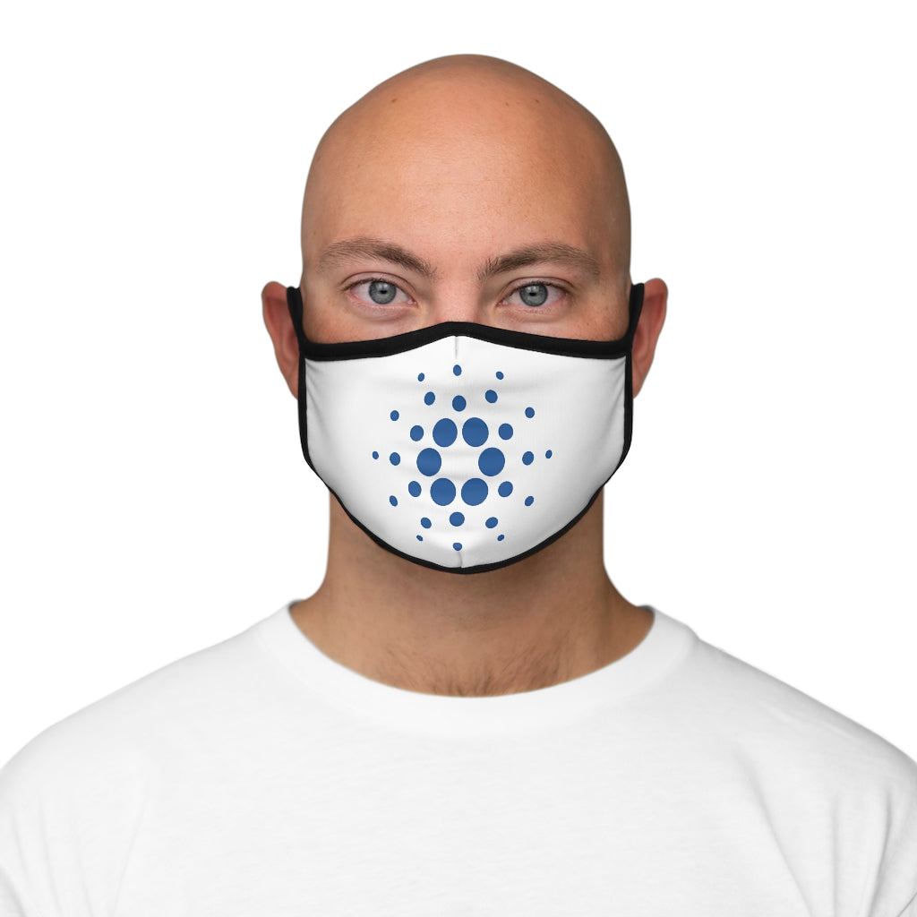 Cardano Fitted Polyester Face Mask