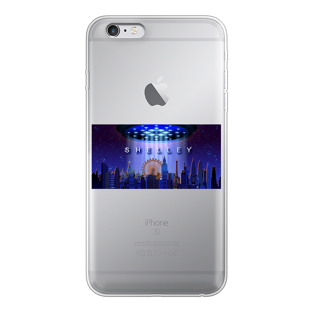 Shelley Back Printed Transparent Hard Phone Case