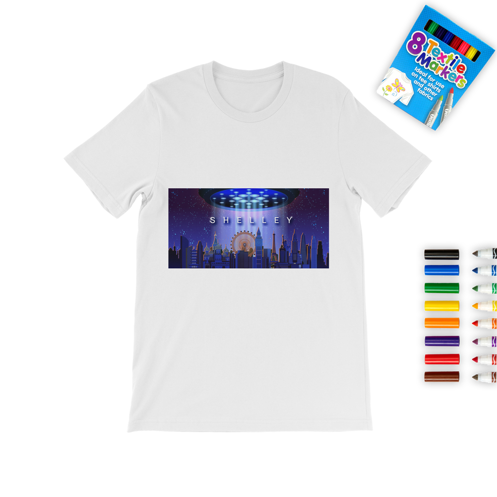 Shelley Colouring T-Shirt