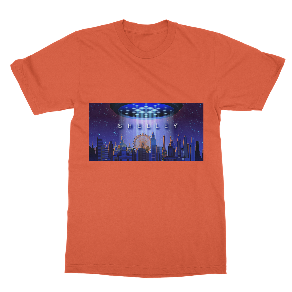Shelley Classic Adult T-Shirt Printed in UK