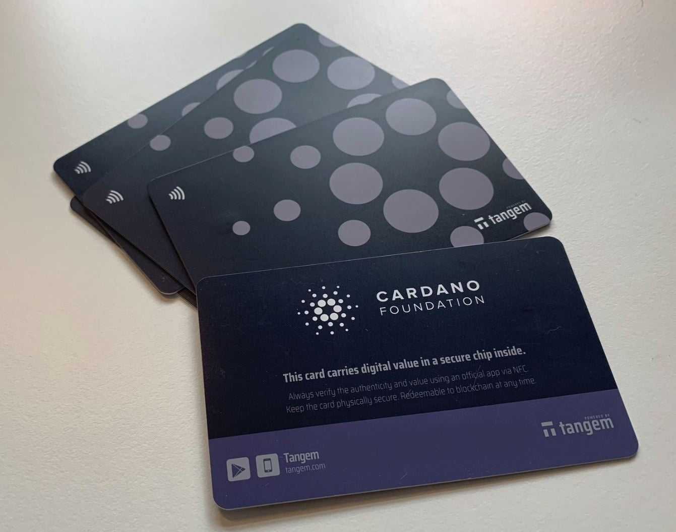 **SOLD OUT** Tangem Cardano Wallet