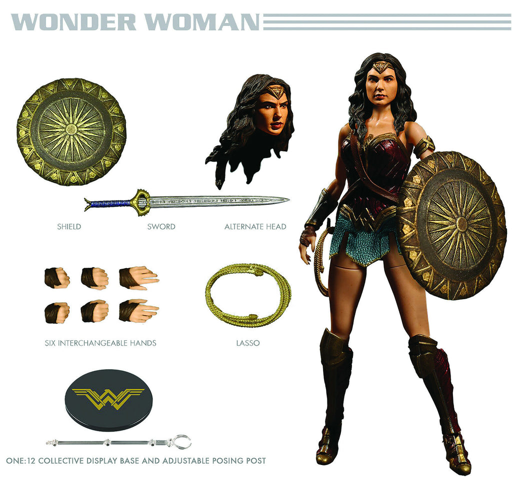 Mezco One:12 Wonder Woman DC Cinematic Action Figure