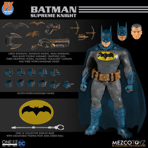 Mezco One:12 Collective Batman Supreme Knight PX Exclusive Figure