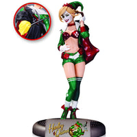 DC Bombshells Harley Quinn Holiday Variant Statue