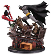 Batman vs Harley Quinn Battle Statue Second Edition