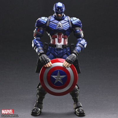 Marvel Universe Variant Bring Arts Captain America Action Figure