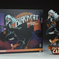 Sideshow Black Cat Mark Brooks Artist Series Statue