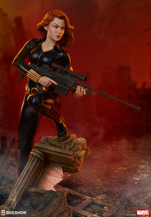 Sideshow Black Widow Statue