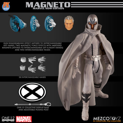Mezco One:12 Collective Magneto Previews Exclusive Action Figure