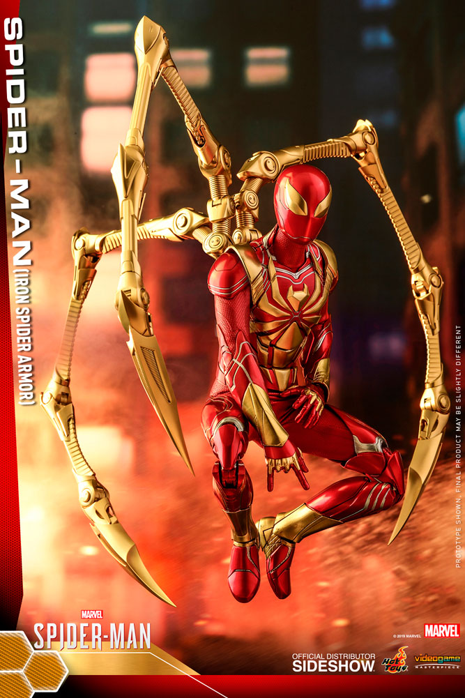 Hot Toys Spider-Man Iron Spider Armor Sixth Scale Figure