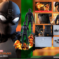 Hot Toys  Spider-Man (Stealth Suit) Deluxe Version Sixth Scale